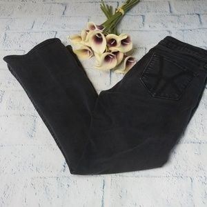 Kut From The Kloth Baby Bootcut Black Jeans